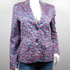 Brooks Brothers 346 Floral Blazer Jacket